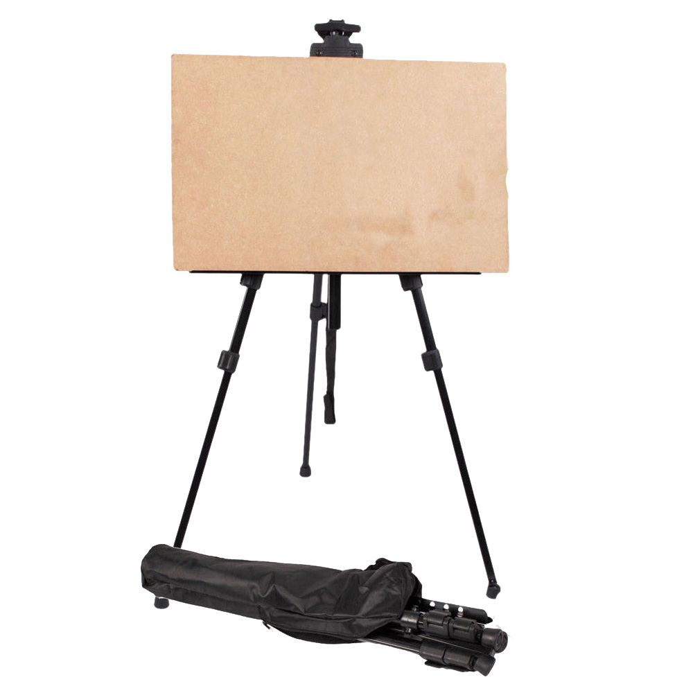 art craft tripod easel stand adjustable aluminum floor easel for