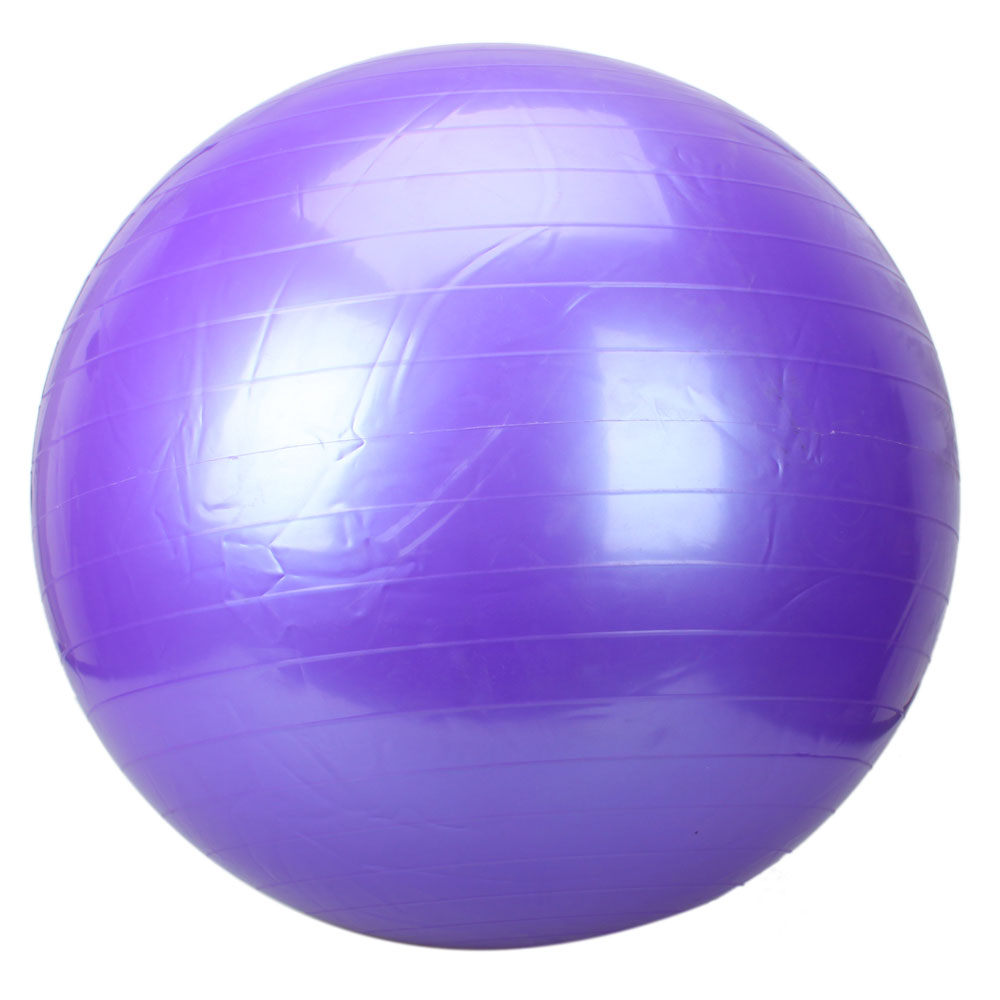 85 CM Thickening Balance Yoga Ball Fitness& Exercise Balls Inflator Pump Purple | eBay