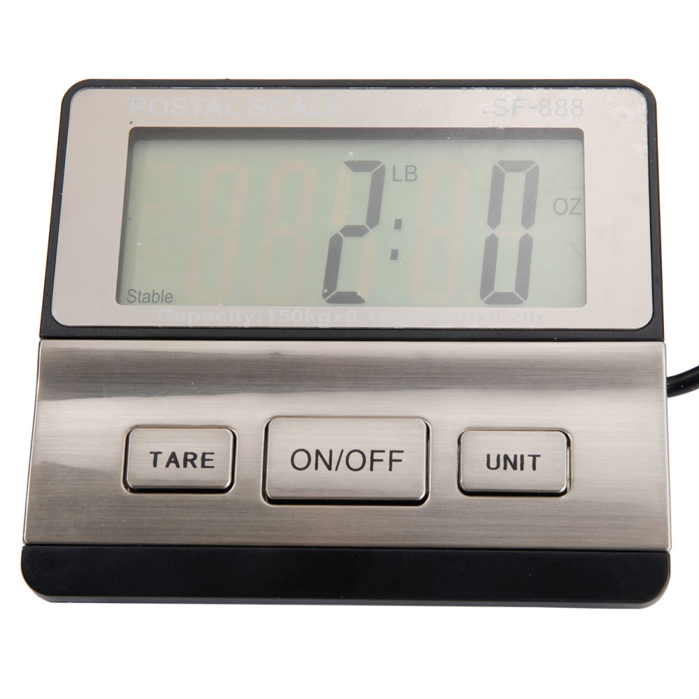Smart weigh usps ups digital shipping postal scale heavy for Are smart scales worth it