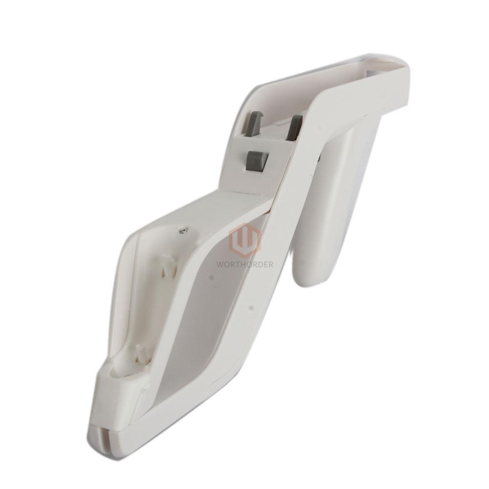 Zapper Gun for Nintendo Wii Remote Wiimote Controller Shoot Game White CA | eBay
